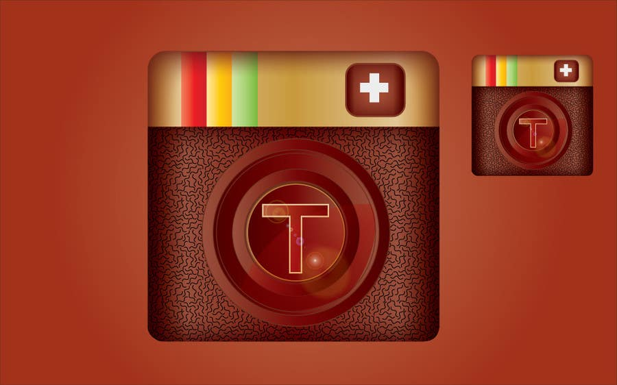 Proposition n°                                        10                                      du concours                                         App Design for  iPhone icon (only 1 icon needed)
