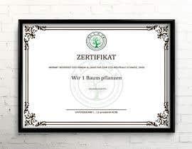 Nro 7 kilpailuun Create me a document (certificate) käyttäjältä Heartbd5
