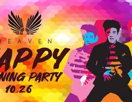 """Nro 48 kilpailuun """"Happy"""" party events creative concept - facebook cover käyttäjältä raisulict"""