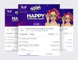 """Nro 72 kilpailuun """"Happy"""" party events creative concept - facebook cover käyttäjältä AbinDesigner"""