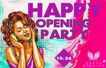 "Graphic Design Kilpailutyö #68 kilpailuun ""Happy"" party events creative concept - facebook cover"