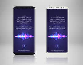 #22 for Voice Assistant Mockup Design by gkhaus