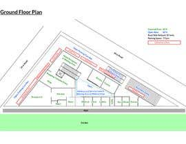 #17 untuk Commercial Building 2D Layout / Plan / Concept/ Ideas drawing needed from scratch oleh Nayak43582