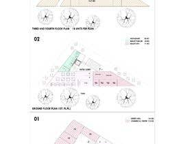#20 untuk Commercial Building 2D Layout / Plan / Concept/ Ideas drawing needed from scratch oleh arquitecturamx