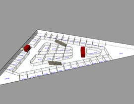 #27 untuk Commercial Building 2D Layout / Plan / Concept/ Ideas drawing needed from scratch oleh ArchiCode