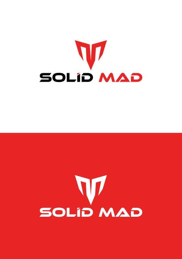 """Intrarea #5360 pentru concursul """"Logo for sportsware and sportsgear brand """"Solid Mad"""""""""""