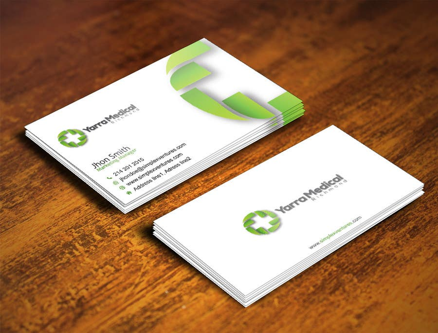 Entry #26 by gohardecent for Design a business card and fridge ...