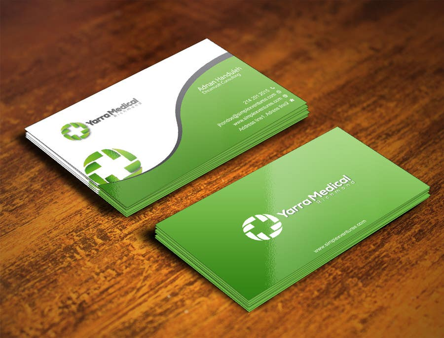 Entry #101 by gohardecent for Design a business card and fridge ...