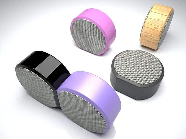 Penyertaan Peraduan #71 untuk Design Bluetooth Speaker (3D File) - example in attachement