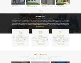 #79 untuk Update Front Page of Website oleh WebCraft111
