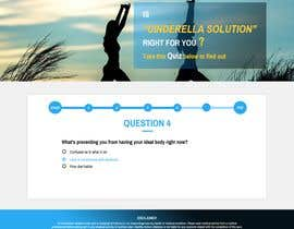 #22 for Design a very simple quiz webpage in a modern and attractive way af tacmoktan