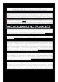 #3 untuk Journal Article Summary related to Organizational theory oleh atifiqbal70