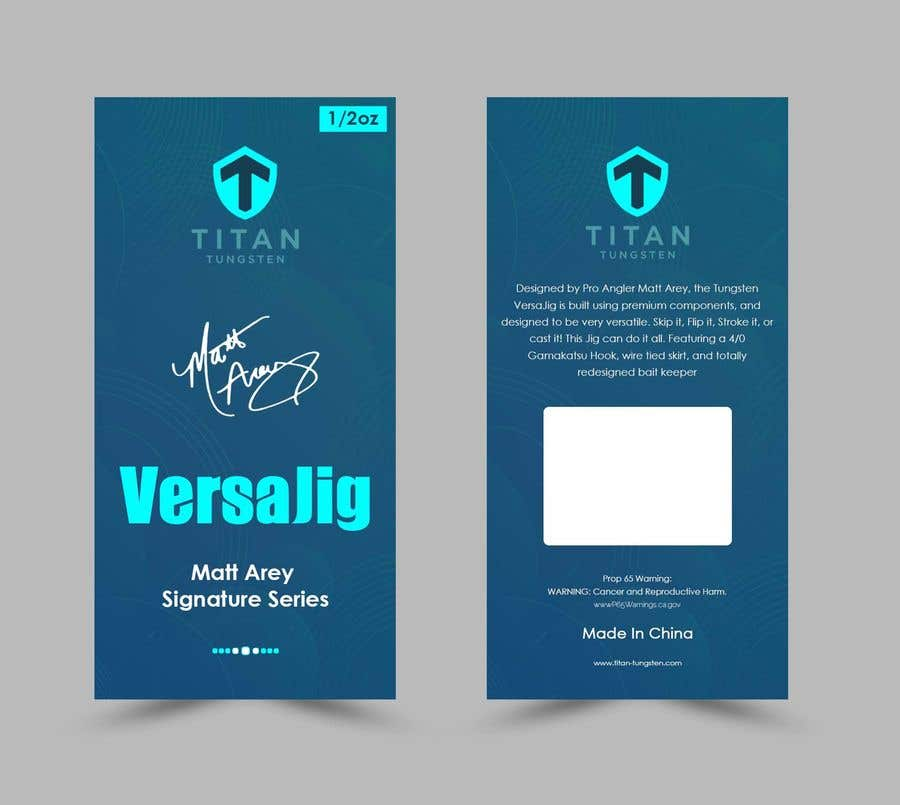 Proposition n°29 du concours Need packaging insert card designed.