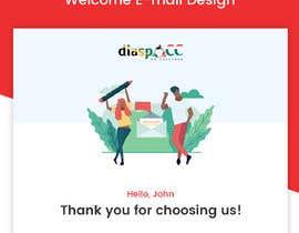 Nro 23 kilpailuun Welcome E-Mail Design - UI/UX Designer käyttäjältä husainmill