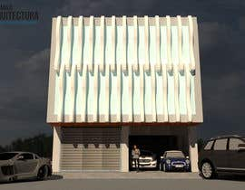 #52 para Facade Design + Render for Small Office por kcarquitecto