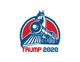 #111 untuk Clothing design for Trump 2020 oleh ashisnilavro
