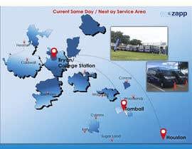 nº 33 pour Need Graphic of Service Area Map par mdanarulnrl