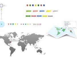 #22 cho UI/UX/branding for positioning service (Mobile browser) bởi SK813