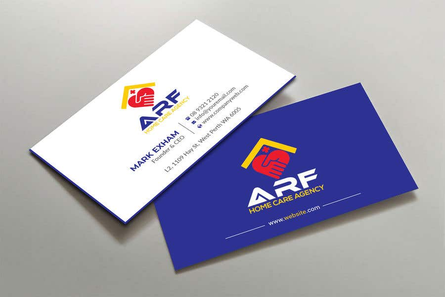 Penyertaan Peraduan #66 untuk Design a company business card