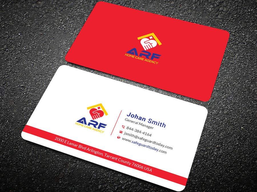 Penyertaan Peraduan #602 untuk Design a company business card