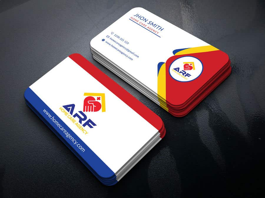 Penyertaan Peraduan #219 untuk Design a company business card