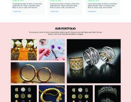#47 for Website-Design for a OnePage (no coding) for handmade jewelry and other stuff by WebCraft111