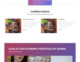 #5 for Website-Design for a OnePage (no coding) for handmade jewelry and other stuff by Isaravanan