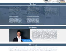 nº 67 pour Website-Design for a OnePage (no coding) for IT-support par Zamilhossain1