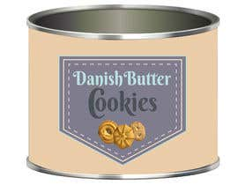 #6 cho Retro design of Danish Butter cookie in round  tin bởi anamariacionca08