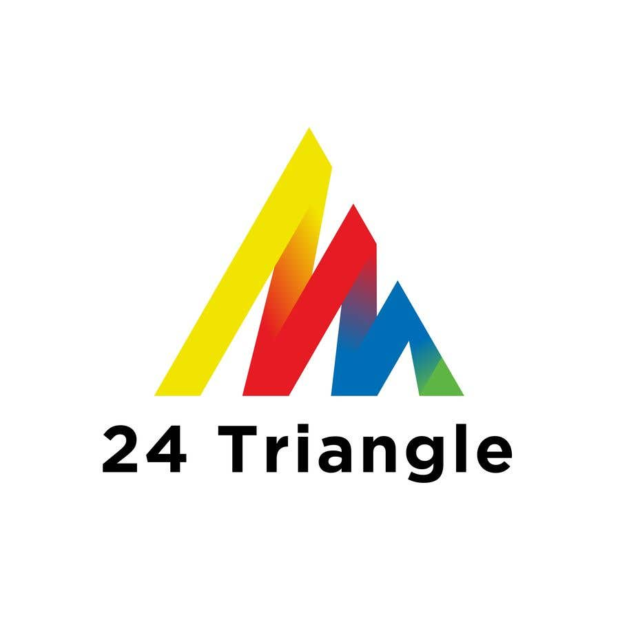 "Konkurrenceindlæg #1149 for Create a logo for ""24 Triangle"""
