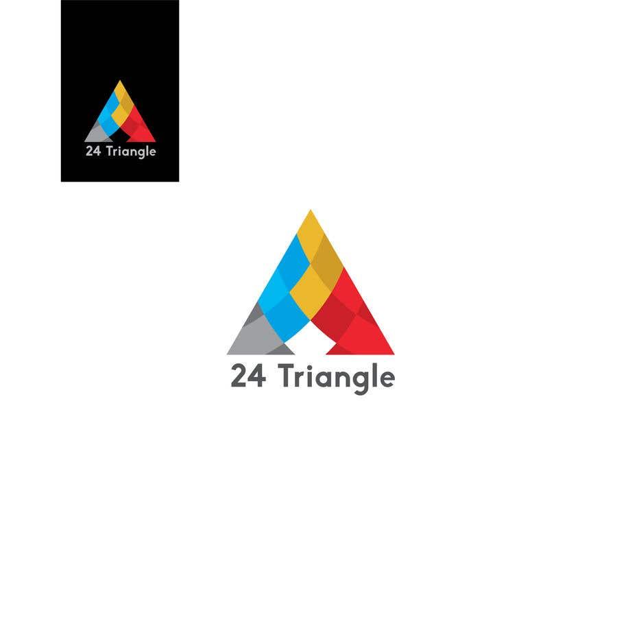 """Inscrição nº 1364 do Concurso para Create a logo for """"24 Triangle"""""""