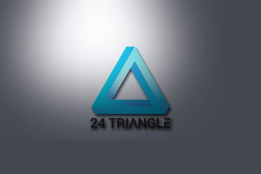 "Konkurrenceindlæg #1155 for Create a logo for ""24 Triangle"""