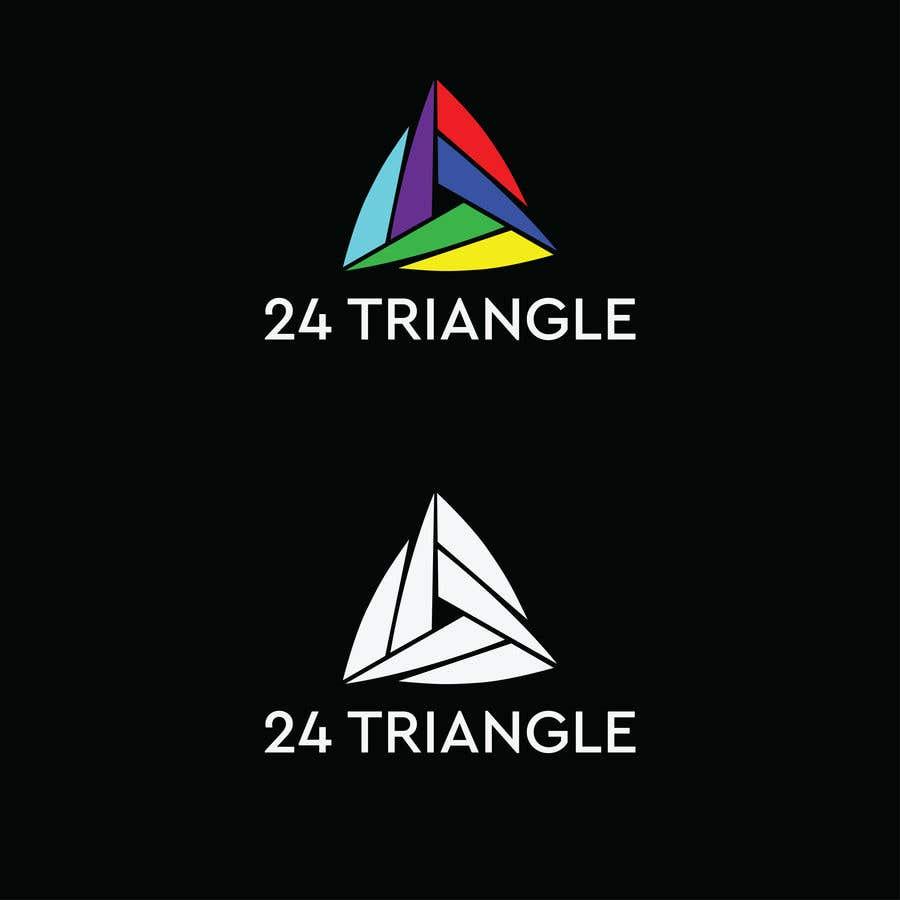 """Inscrição nº 1241 do Concurso para Create a logo for """"24 Triangle"""""""