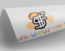 #14 untuk Logo Design  Title: 2SauceyyFlavours / TooSauceyyFlavours With graphic of Mixed Caribbean Food into logo  - fried chicken & mac n cheese & prawns & waffles etc  - 21/10/2019 13:13 EDT oleh logoque