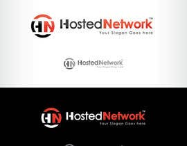 #24 para Logo Design for Hosted Network por oscarhawkins