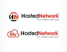 #37 para Logo Design for Hosted Network por oscarhawkins