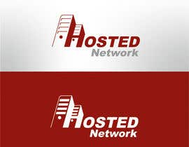 #33 para Logo Design for Hosted Network por enginemedia