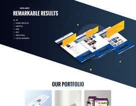 #75 for Digital Agency Multi Page Web Template af syrwebdevelopmen