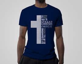 Nro 10 kilpailuun Gospel Cheer Tee Shirt design käyttäjältä estorak