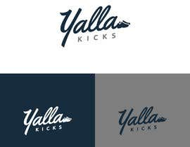 "#7 для This logo is for ""YallaKicks"" — The Middle East's First Sneaker Subscription Box. I need a logo to be created in a couple of popular sizes to be used across all media. от miladinka1"