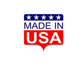 "#45 для Design Transparent Sticker for ""Made in USA"" product от jotiislam3010"