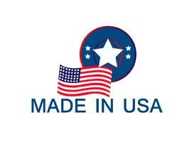"#32 для Design Transparent Sticker for ""Made in USA"" product от Alifshadman"