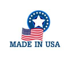 "#37 для Design Transparent Sticker for ""Made in USA"" product от Alifshadman"