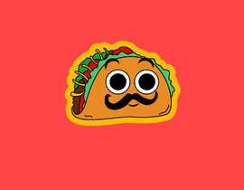 #20 cho Design a unique transparent taco sticker for a label bởi EmmanuelOchie