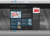 Graphic Design Inscrição do Concurso Nº59 para Website Design for activIT systems