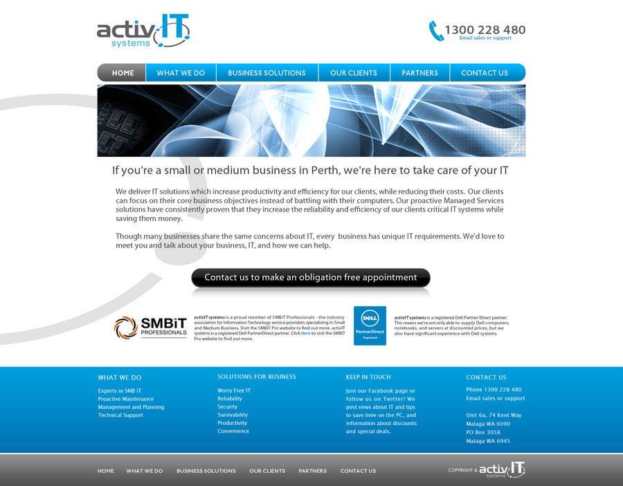 Inscrição nº                                         10                                      do Concurso para                                         Website Design for activIT systems