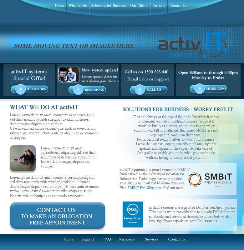 Inscrição nº                                         29                                      do Concurso para                                         Website Design for activIT systems