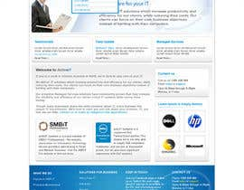 #47 dla Website Design for activIT systems przez designcobber221b