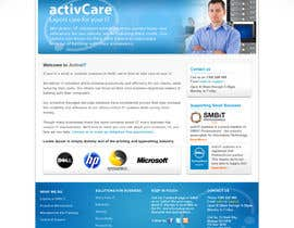 #39 dla Website Design for activIT systems przez designcobber221b