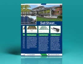 "#56 for Sell Sheet - PBR Metal Panel, Ag Metal Panel & 6"" K-Style Seamless Gutters af orpitani"